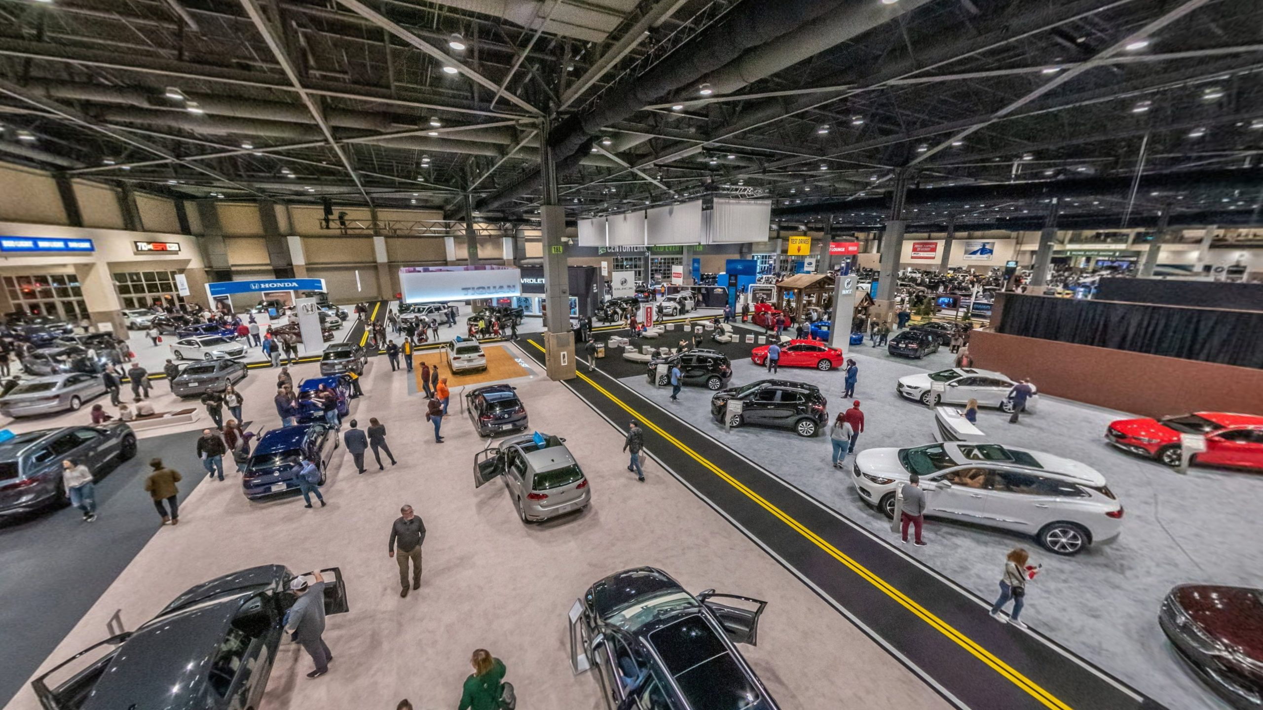 Virtual Tour. Seattle's Annual Showcase of Everything New: Cars, Trucks, Exotics, Luxury & Electrics.